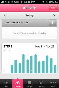 iPhone Activity