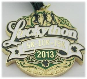 Luckython2013medal